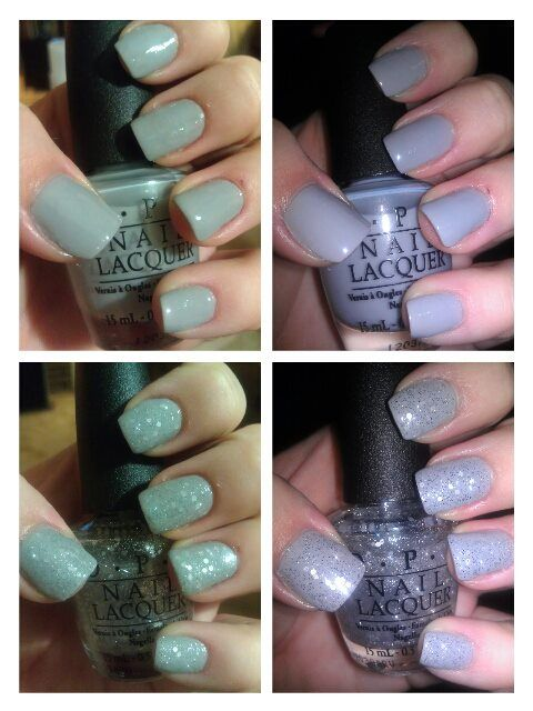 OPI My Pointe Exactly and Pirouette My Whistle