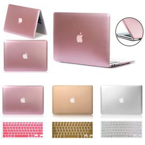 Rubberized Matte Hard Case+Keyboard Cover Skin For Apple MacBook 13//15 Air 11//13