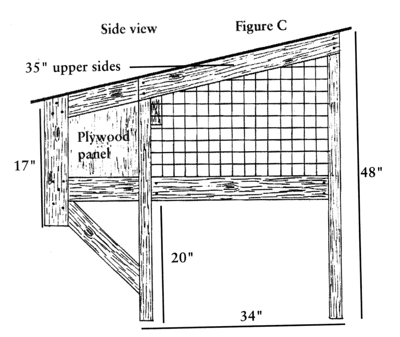 Build Your Own Rabbit Hutch Diagrams