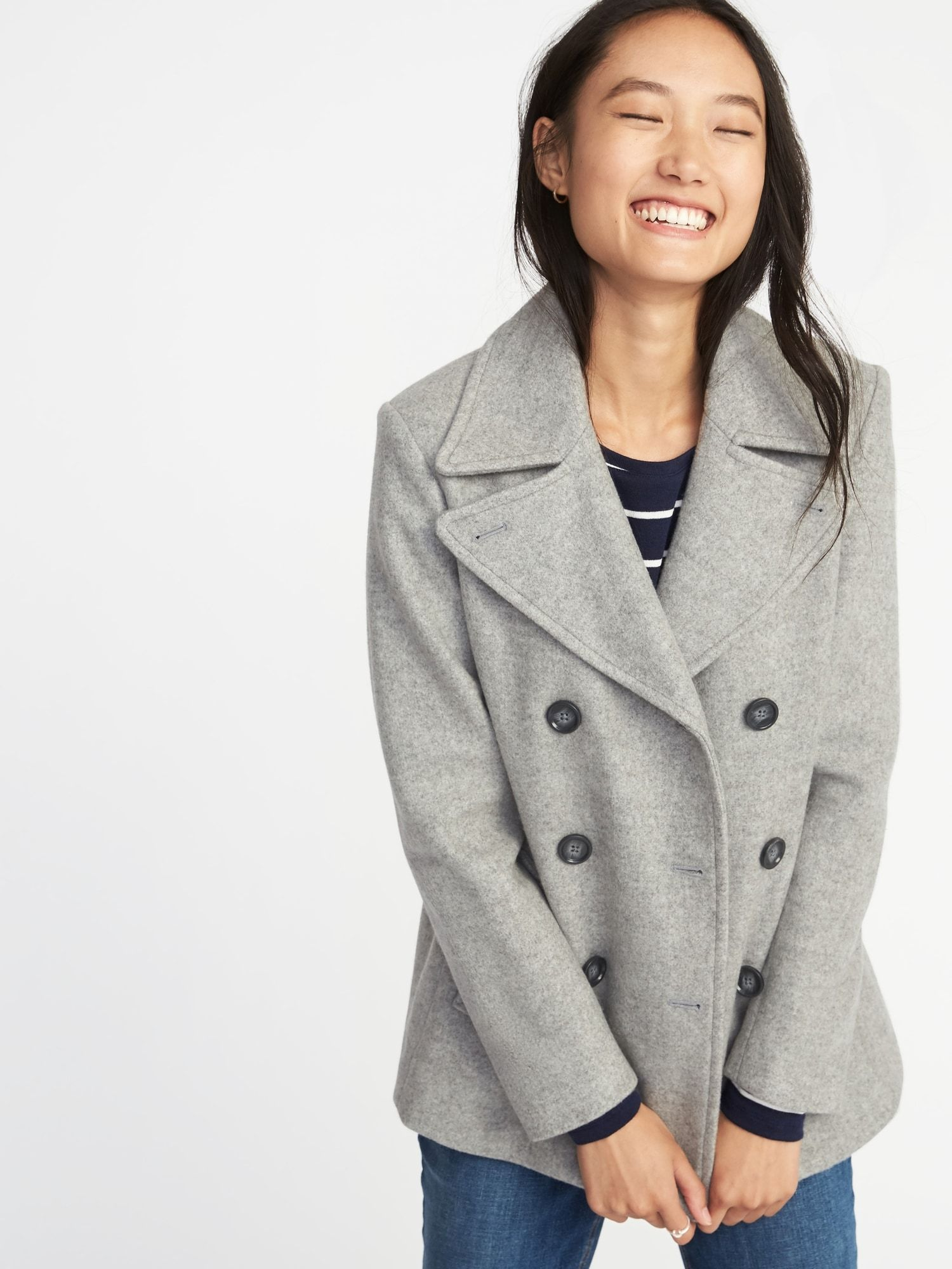 Look - How to peacoat a wear womens video