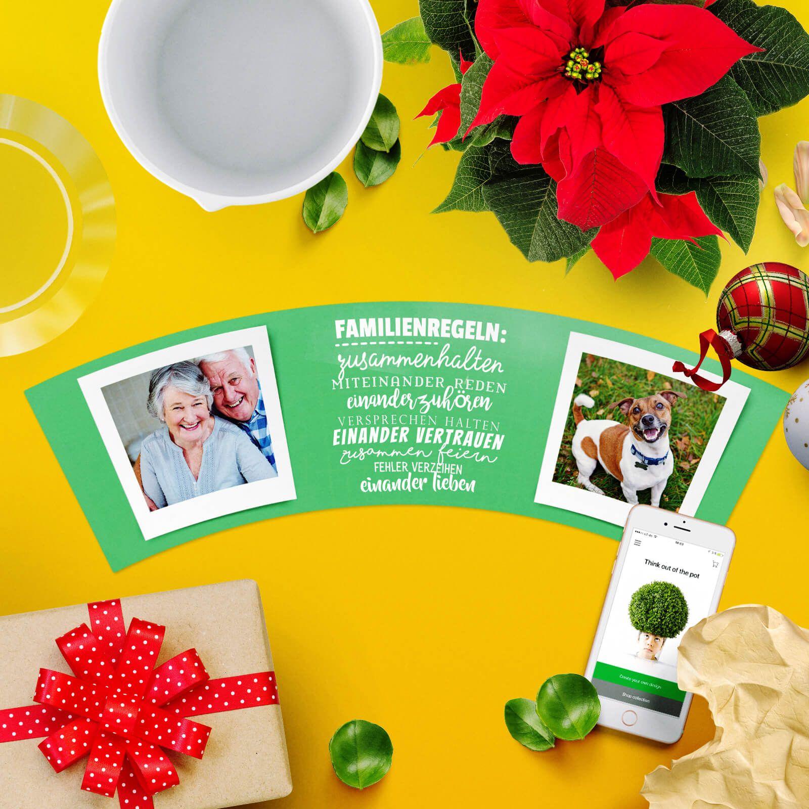 Originelles Blumentopf Weihnachtsgeschenk für Ehemann oder Ehefrau ...