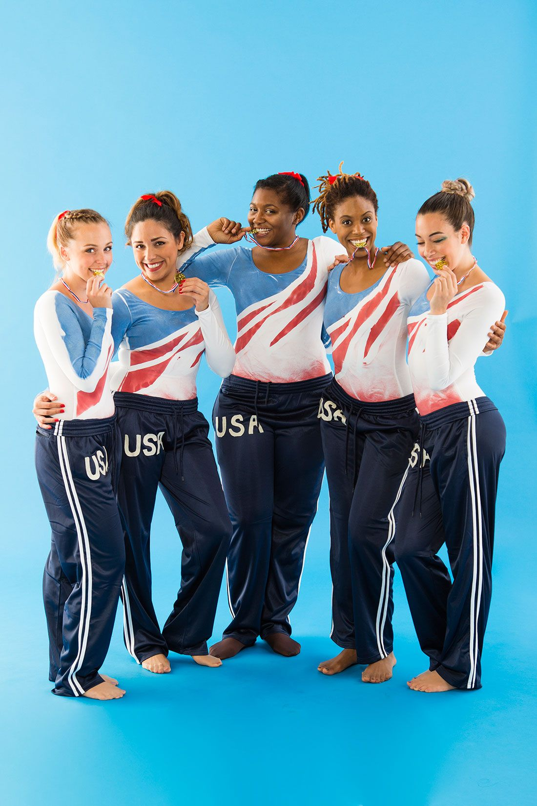 Win Olympic Gold Medal With Fab 5 Gymnastics