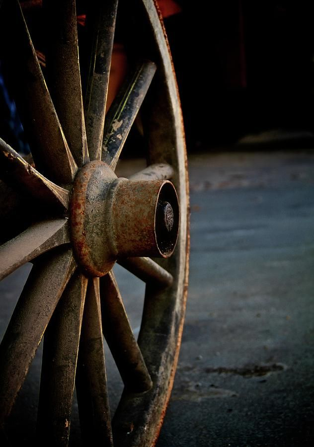Wagon Wheel Fine Art Print