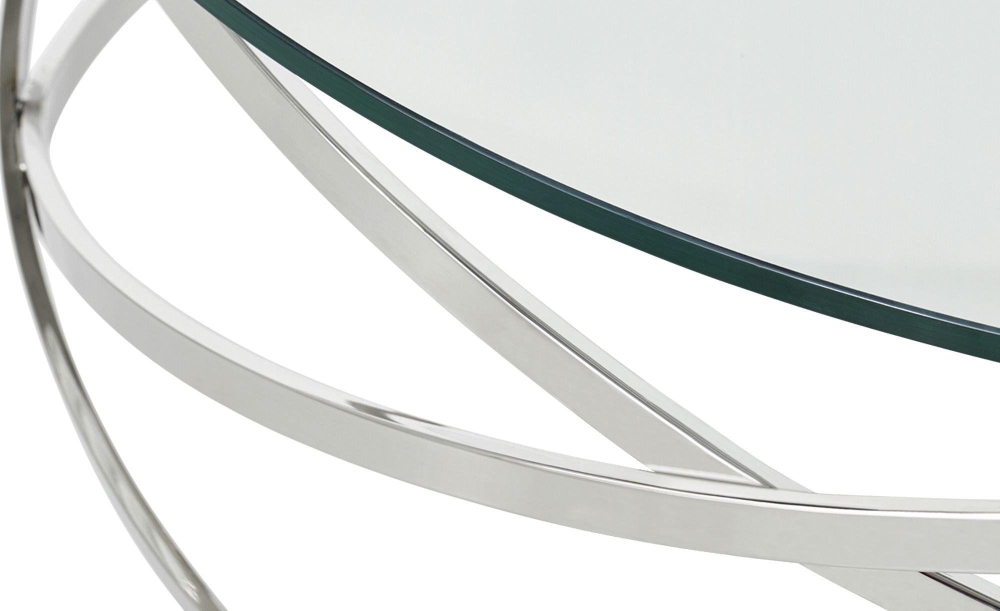 Couchtisch Todor Silber Maße Cm H 35 ø 1050