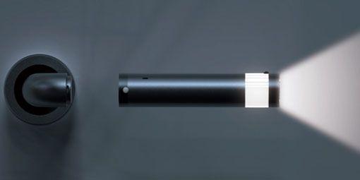 Ledoorhandle Door Handle Led Lights And Detachable Flashlight Combo Poignee De Porte Lumiere Led Lampe De Poche