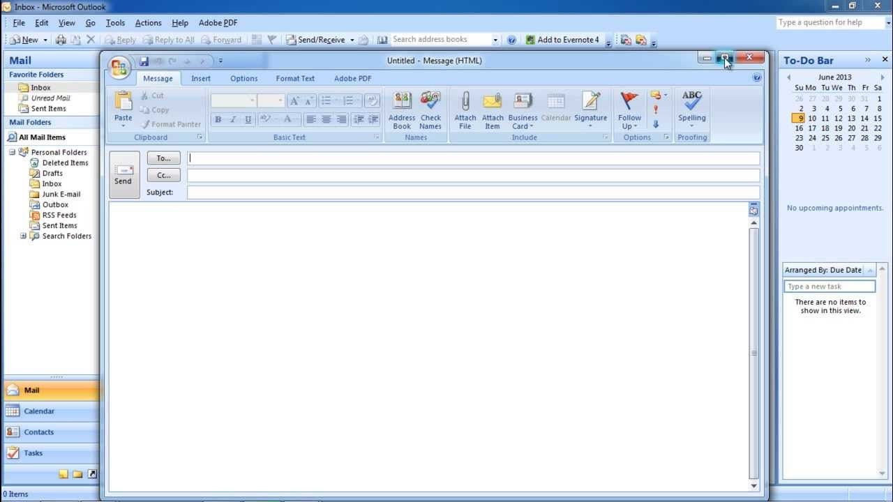 How To Send Outlook Email Powerpoint Tutorial Outlook Email Encrypted Messages