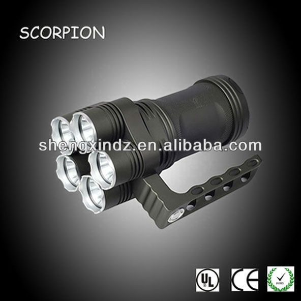Led Cree Police Flashlight Function Portable Easy To Carry Greater Than 4500 Lm Stro Rechargeable Led Flashlight Police Flashlights Rechargeable Flashlight