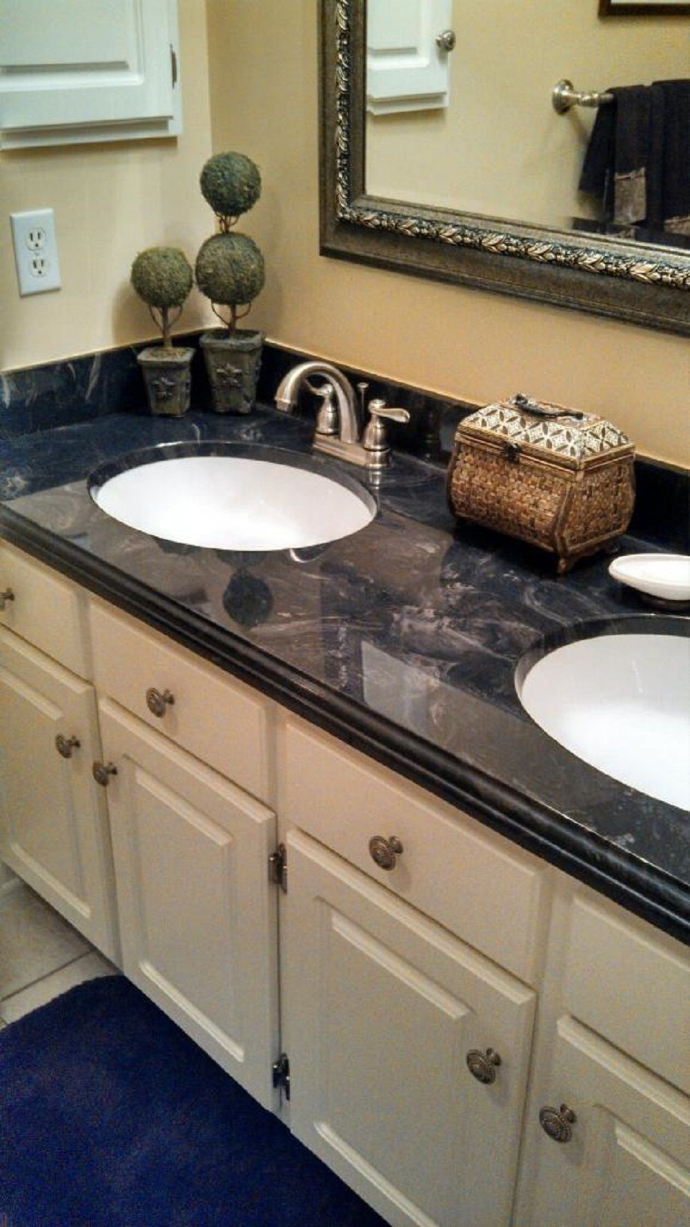 The Affordable Elegance Is What You Get This Charis Black Walnut Cultured Marble Discount Bathroom Vanities Cheap Bathroom Vanities Bathroom Vanity Tops