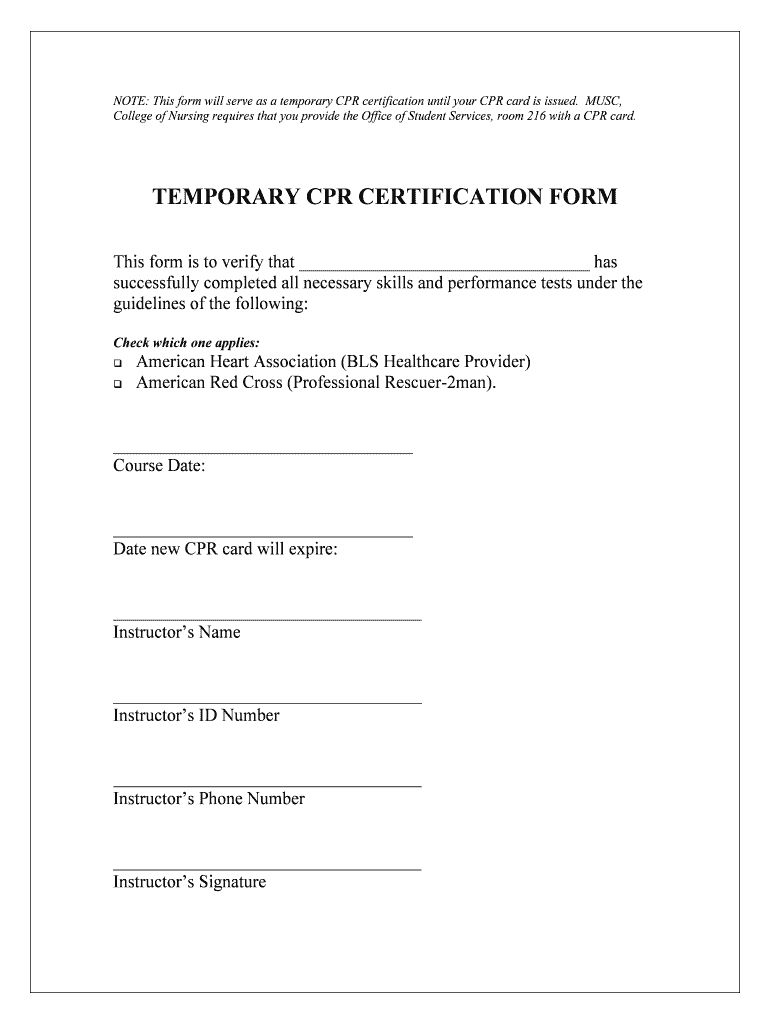 Cpr Form Fill Out And Sign Printable Pdf Template Signnow In Cpr Card Template Sample Professional Temp Cpr Card Printable Signs Card Templates Printable