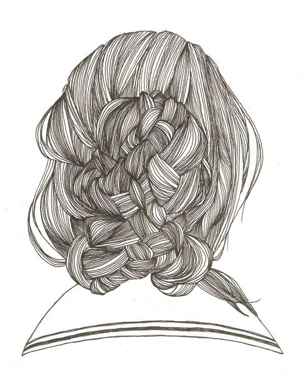 Line Art Hair : Line project idea famous person s hair zentangle