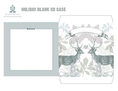 printable christmas cd cover. these would make such nice christmas, Powerpoint templates