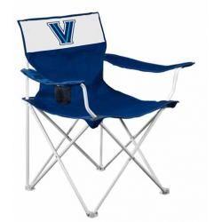 Villanova Canvas Adult Folding Logo Chair