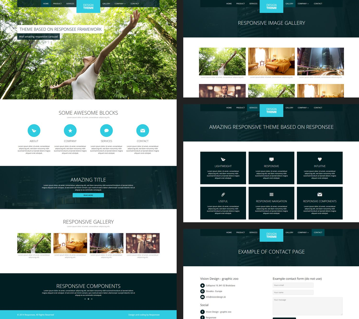 Free responsive design template add ons plug ins afins web page templates 12 free responsive business website templates pronofoot35fo Image collections