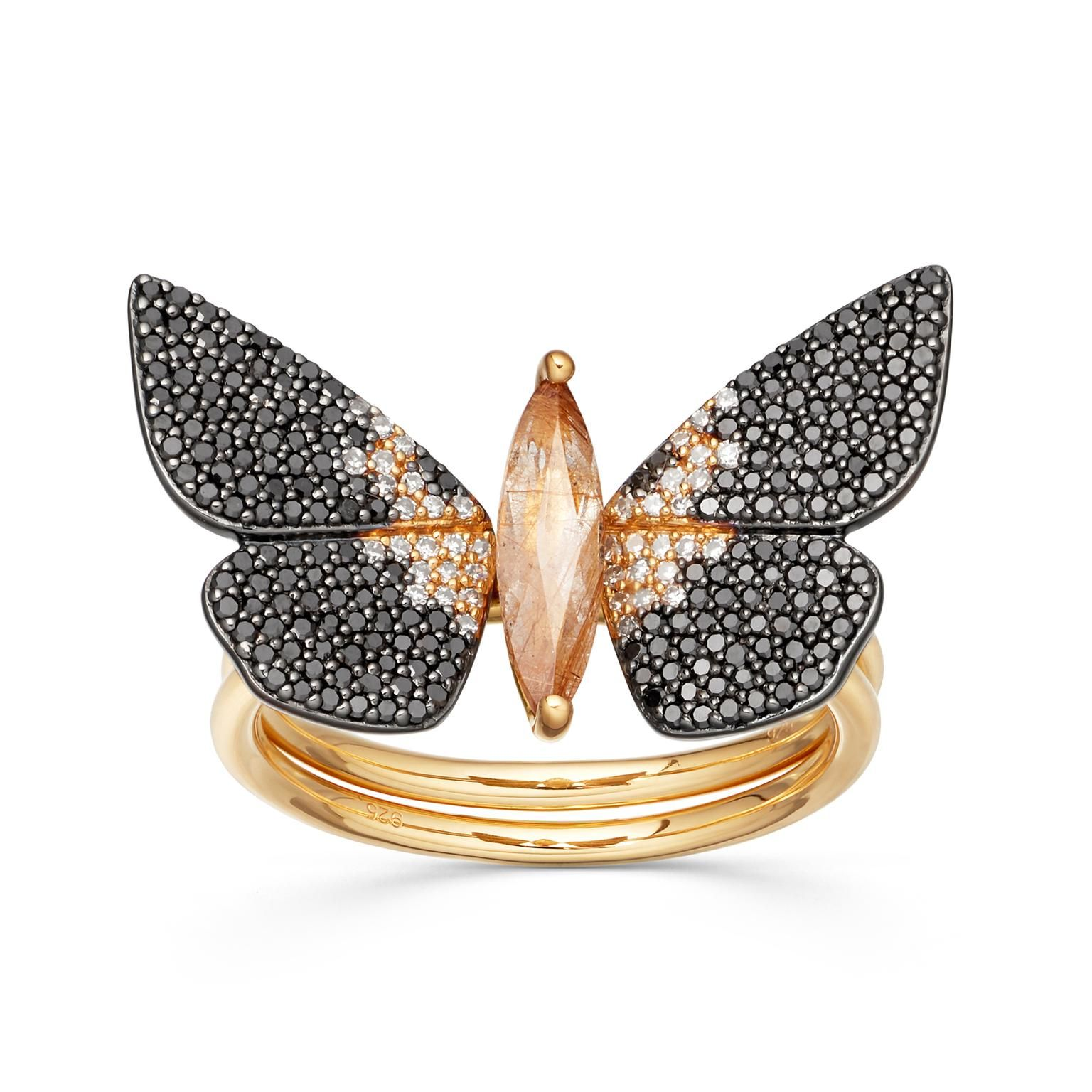 taxis Magpie Moth ring