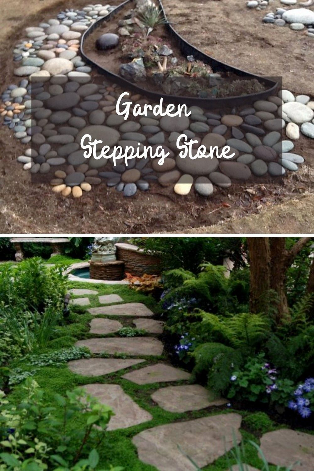 Pin On By Garden Stepping Stone Ideas Backyard diy stepping stones