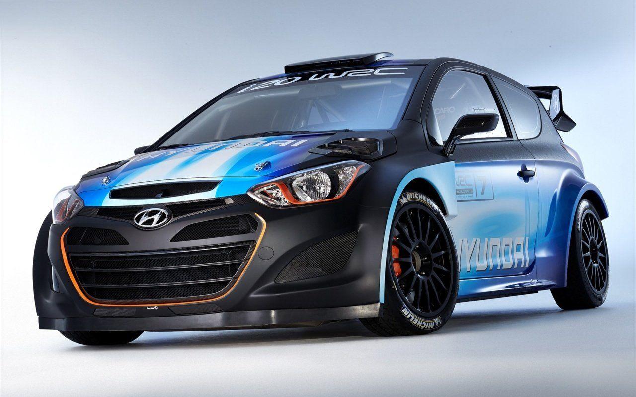 2014 Hyundai I20 WRC Sport Car