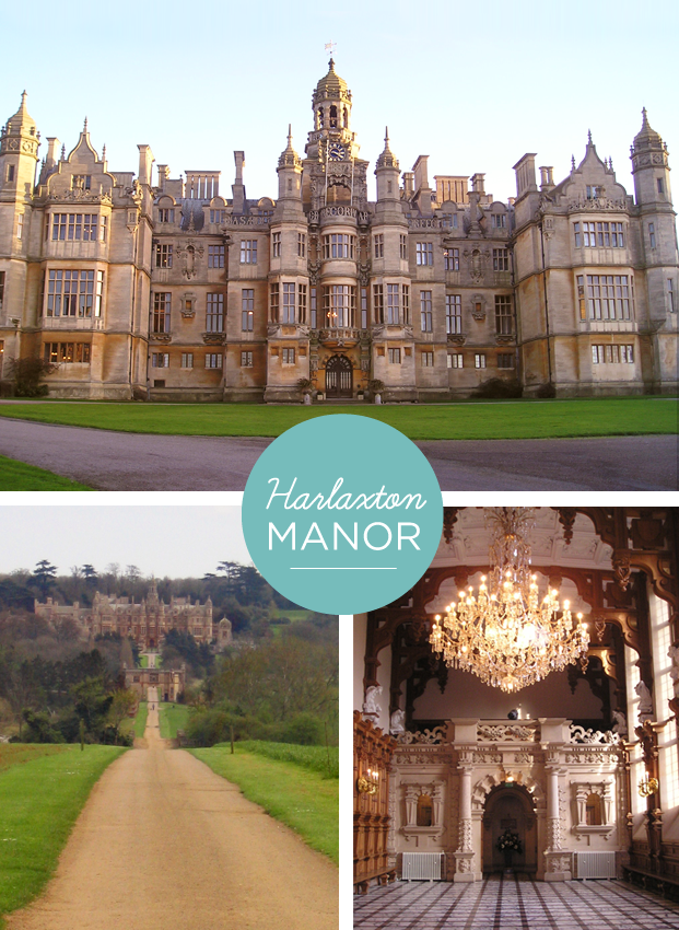 Nostalgic for Harlaxton Manor in England