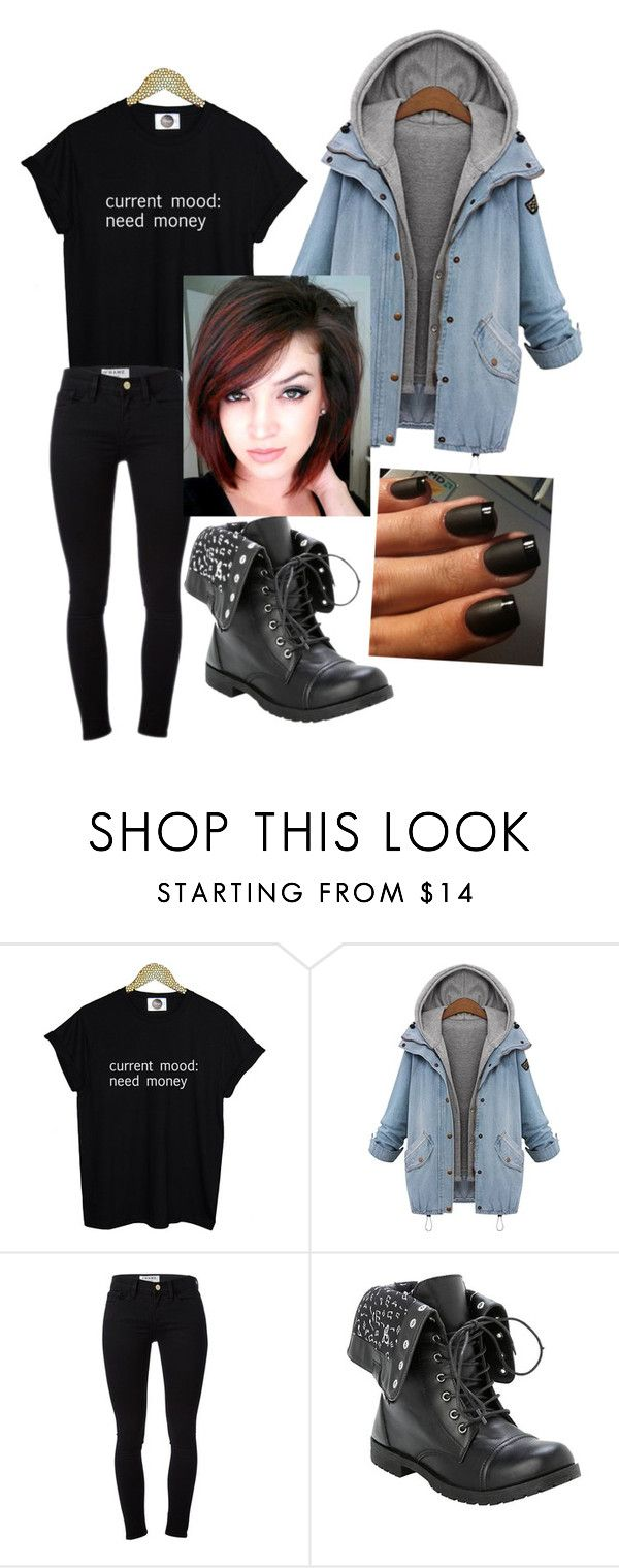 """""""Current needs"""" by leoigrandleo ❤ liked on Polyvore featuring Frame Denim"""