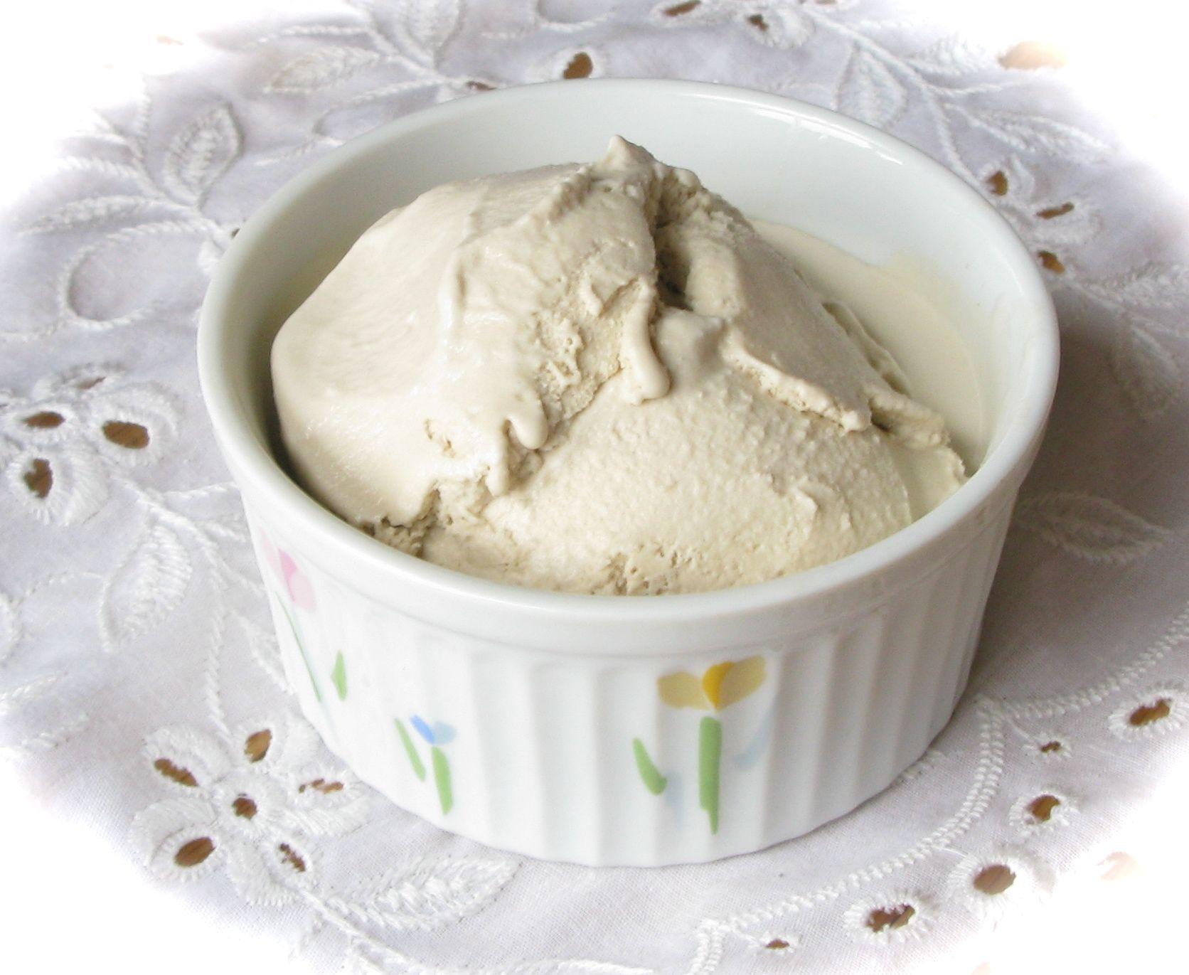 Coffee Ice Cream (Caffeine, Dairy, SugarFree & Vegan