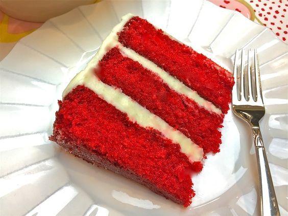 Es gibt einfach kein besseres Rezept für Red Velvet Cake als das von The Bubbl ...   - Fa la la la la - #Als #besseres #Bubbl #Cake #Das #Einfach #Es #Fa #für #gibt #Kein #la #Red #Rezept #Velvet #von #redvelvetcheesecake