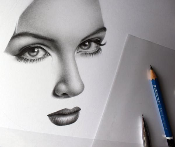 Realistic pencil drawings by ileana hunter cuded