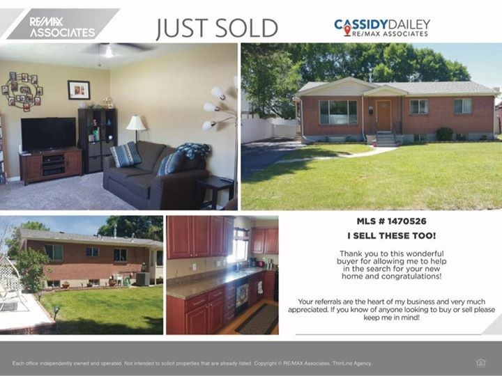 I Had The Pleasure Of Helping A Great Little Family Get Into This Millcreek Area Home Right In Time For Thanksgiving Give Me Call If You Or Someone