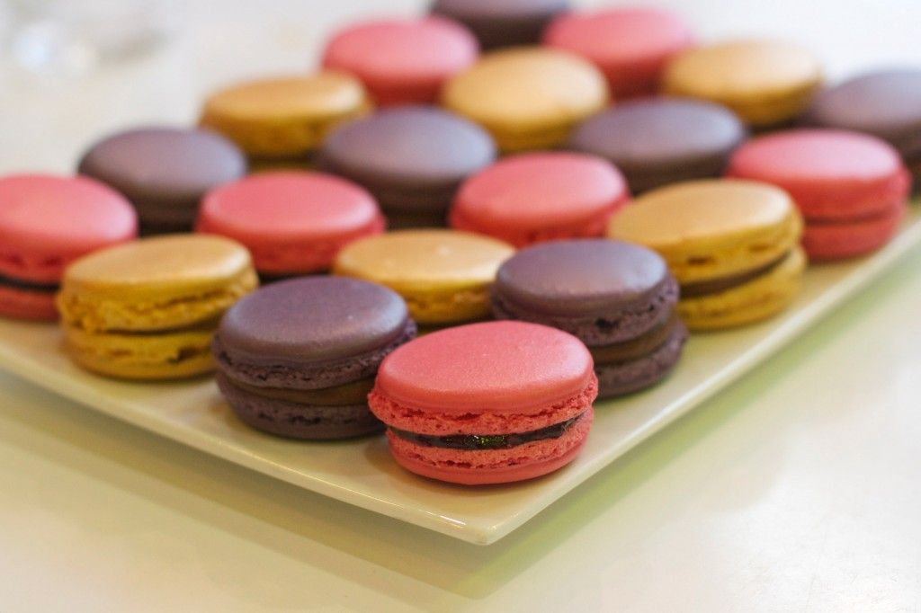I actually followed this macaron recipe step by step, and the results were awesome!!! So good for the first time. Simple, but time consuming. The only thing I will do different next time is lessening the amount of sugar. Too sweet!