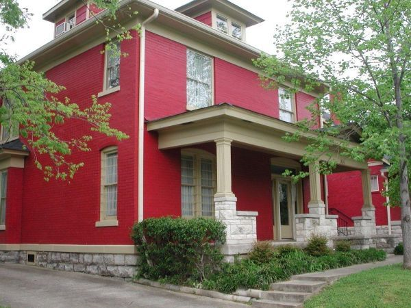 Related Image Red House House Colors Red Brick House