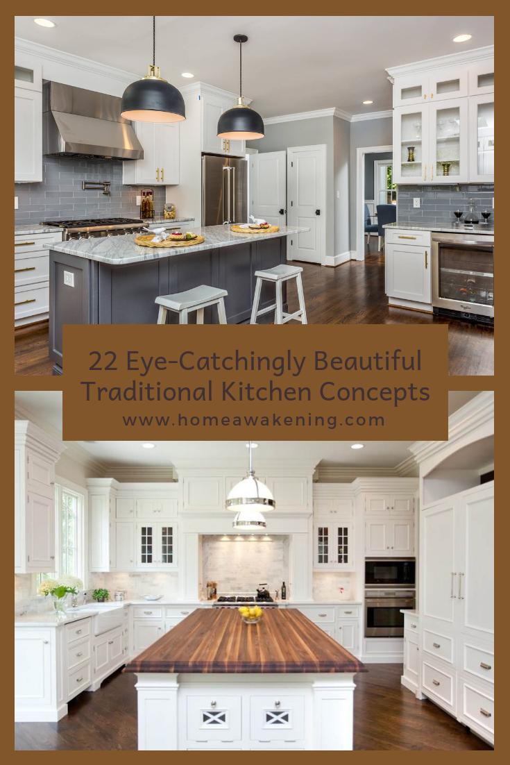 beautiful traditional kitchens