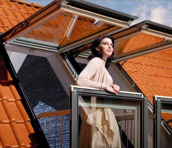 Skylights For Garage: Roof Window Design Idea From Fakro Reinvents Skylights