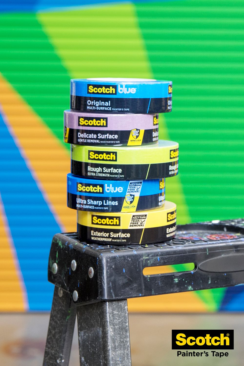 With An Entire Line Of Tapes To Choose From You Ll Be Ready To Conquer Your Next Project The Best Paint Jobs Start Wit With Images Cool Paintings Painters Tape Paint Job