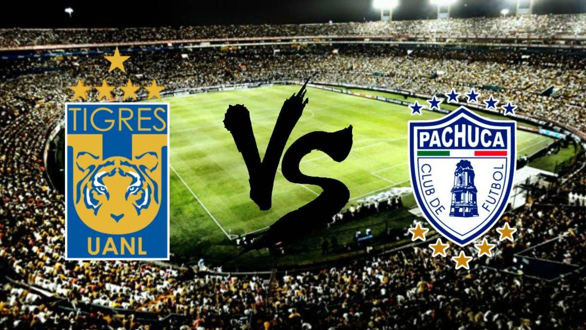 Liga Mx Tigres UANL vs Pachuca (con imágenes) Tigres uanl