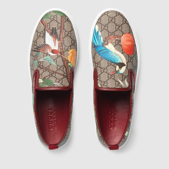 Humming Birds Pattern Breathable Fashion Sneakers Running Shoes Slip-On Loafers Classic Shoes