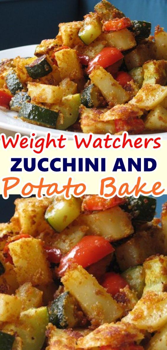 ZUCCHINI AND POTATO BAKE images