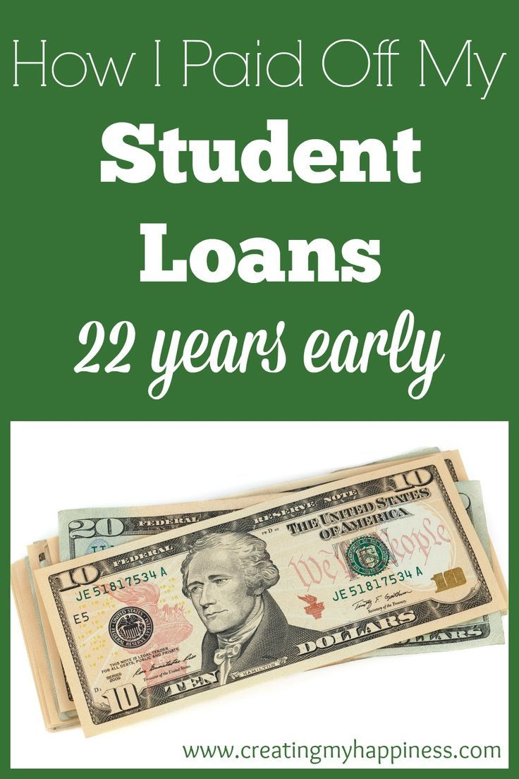 How I Paid Off My Student Loans 22 Years Early Pay Off Mortgage Early Student Loan Debt Student Loans