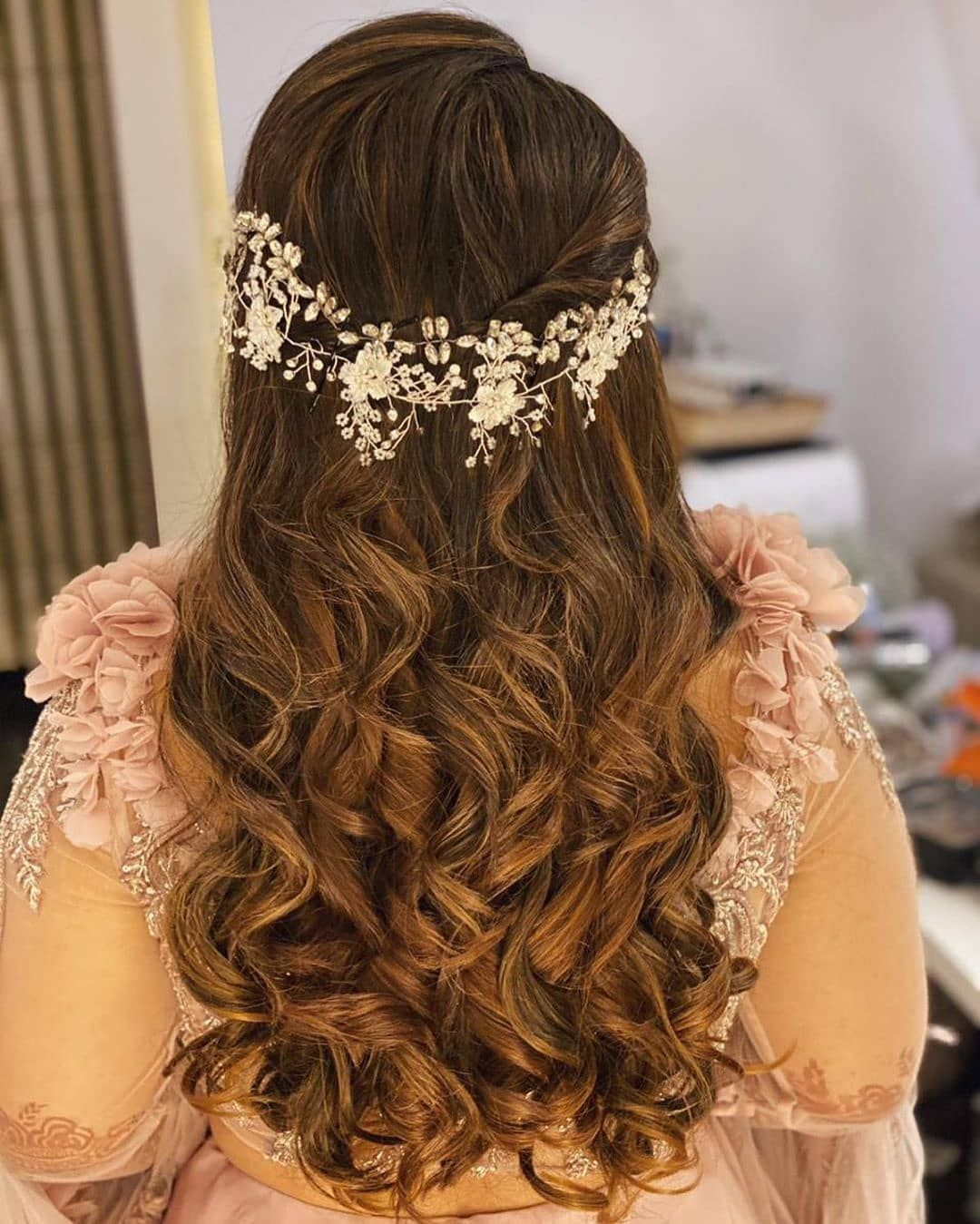 Inspiring indian wedding hairstyles for long hair you must