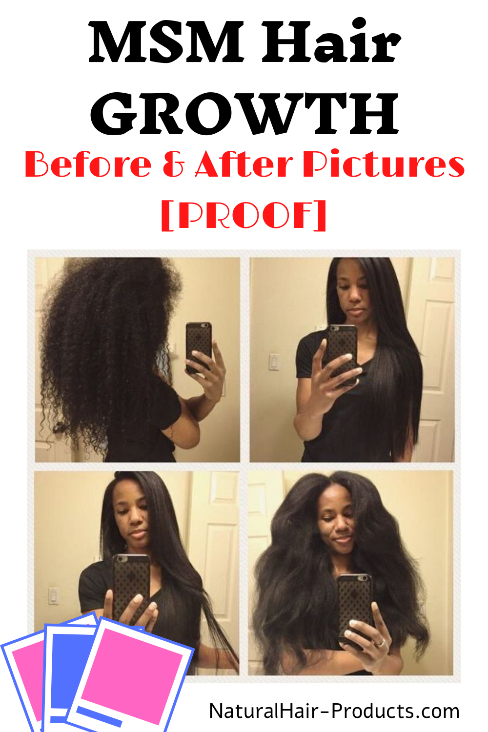 See More Msm Hair Growth Before And After Pictures Proof In 2020 Msm Hair Growth Natural Hair Growth Natural Hair Styles