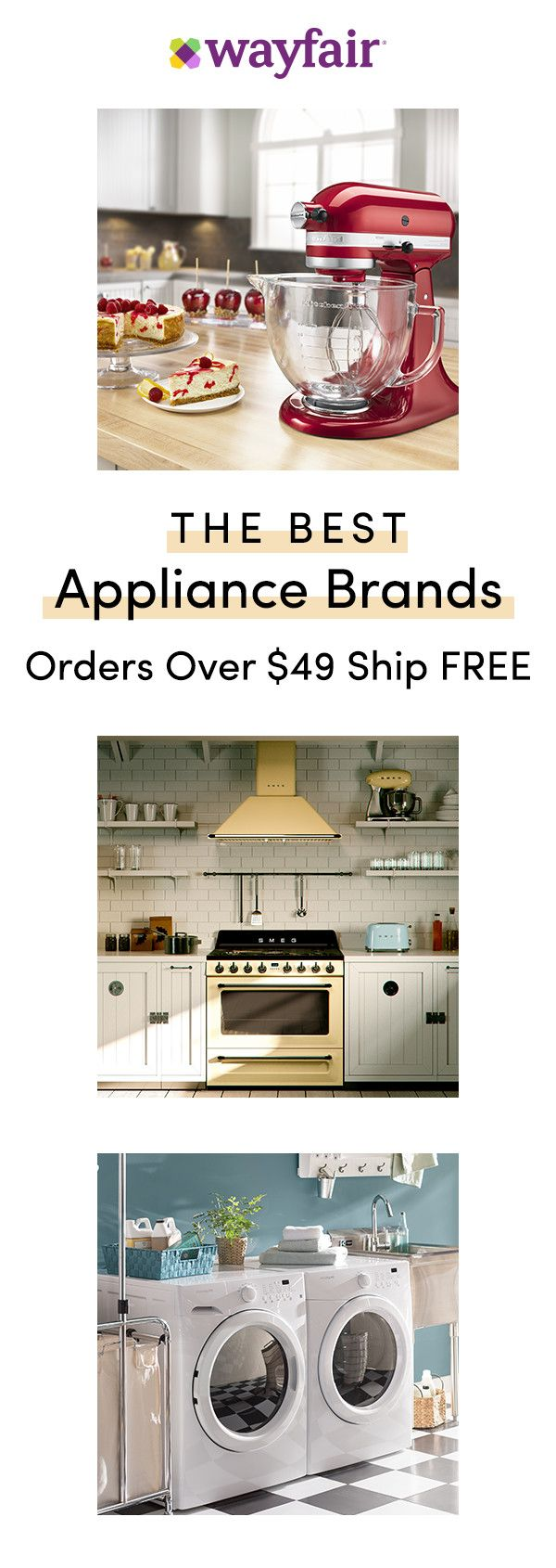 Sign Up For Access To Exclusive Sales All At Up To 70 Off Upgrading Your Appliances Has Never Been So Eas Cooking Appliances Home Appliances Best Appliances