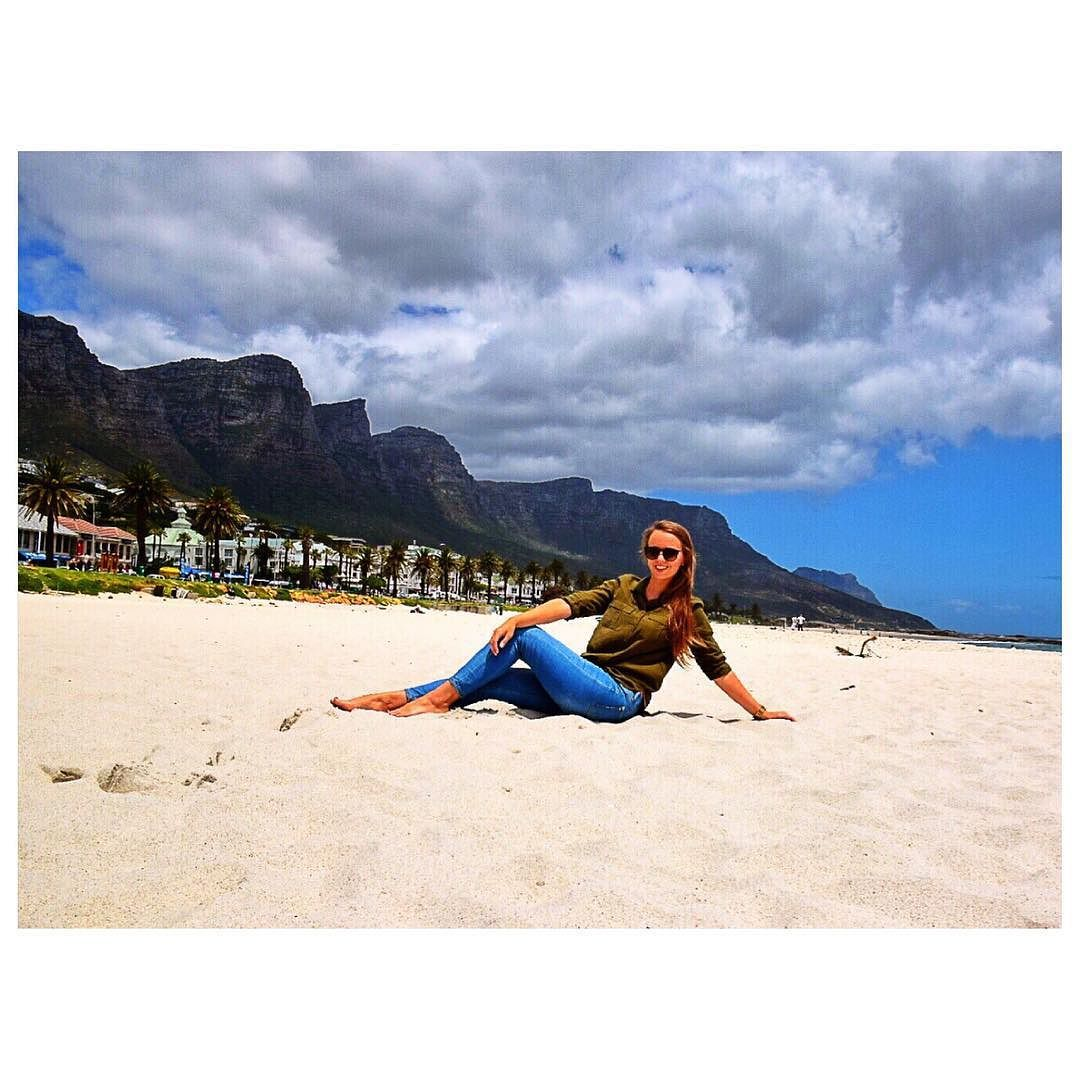 Beautiful Camp's Bay Beach  Can't get over how gorgeous Cape Town is I need to go back ASAP! Blog post is in the works stay tuned on http://ift.tt/1hnjP0q  #campsbay #Capetown #cabincrew #crewlife #layover #beach #12apostles #NikonD5300 #travel #explore #travelblog #emirates by rachelwwilson http://ift.tt/1ijk11S