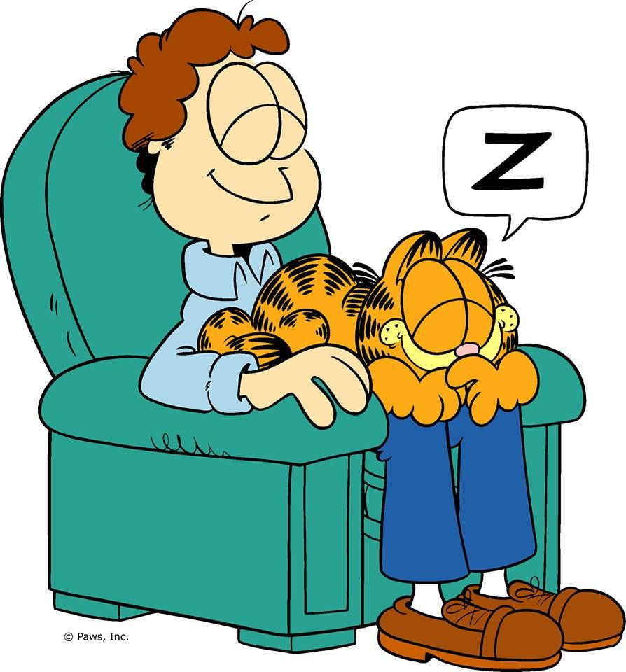 It S Sunday I Don T Have To Move Garfield Comics Garfield And Odie Garfield Cartoon