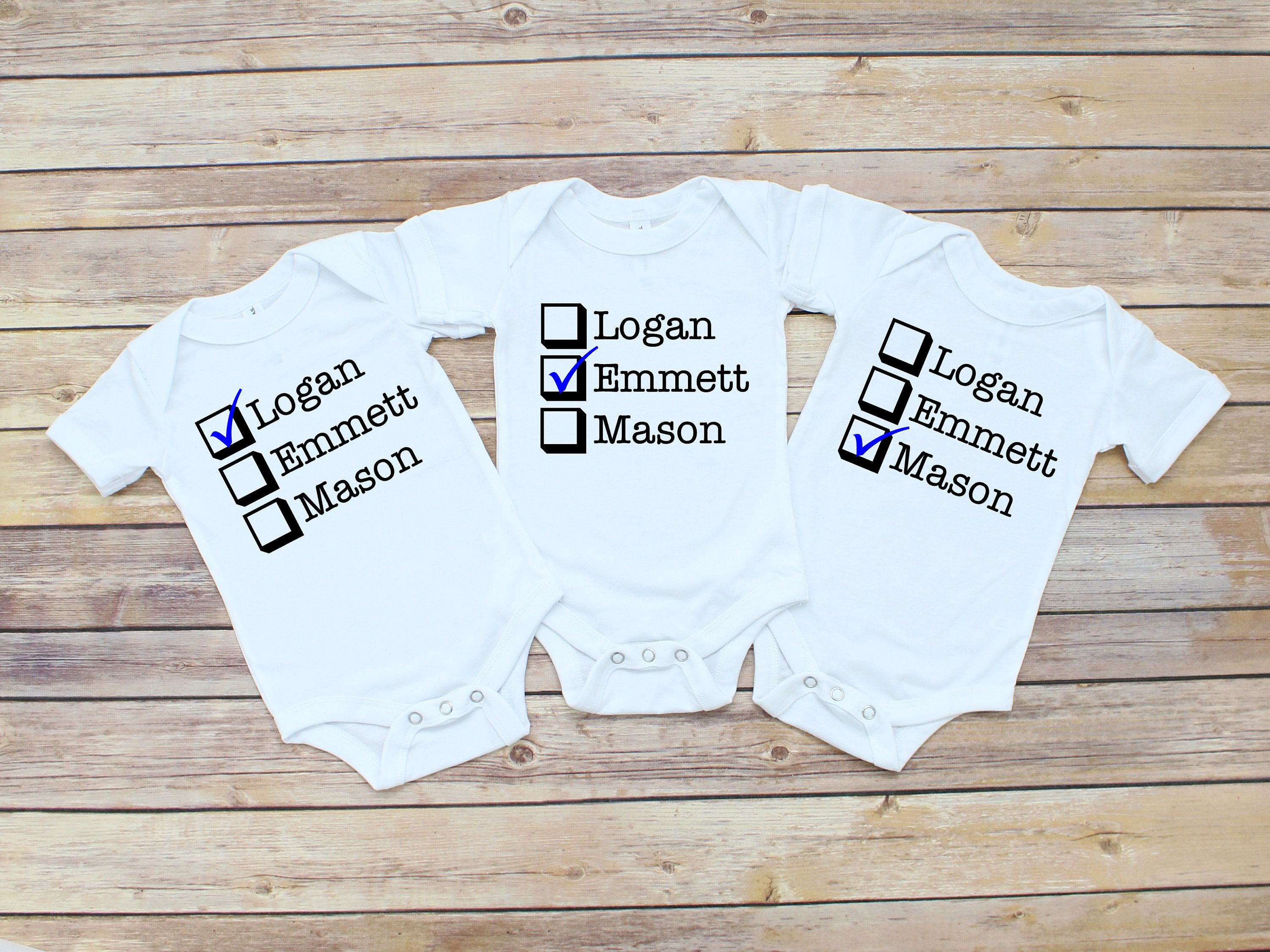 Personalised Name T-Shirts /& Bodysuits Printed Baby Toddler Matching Girls Boys