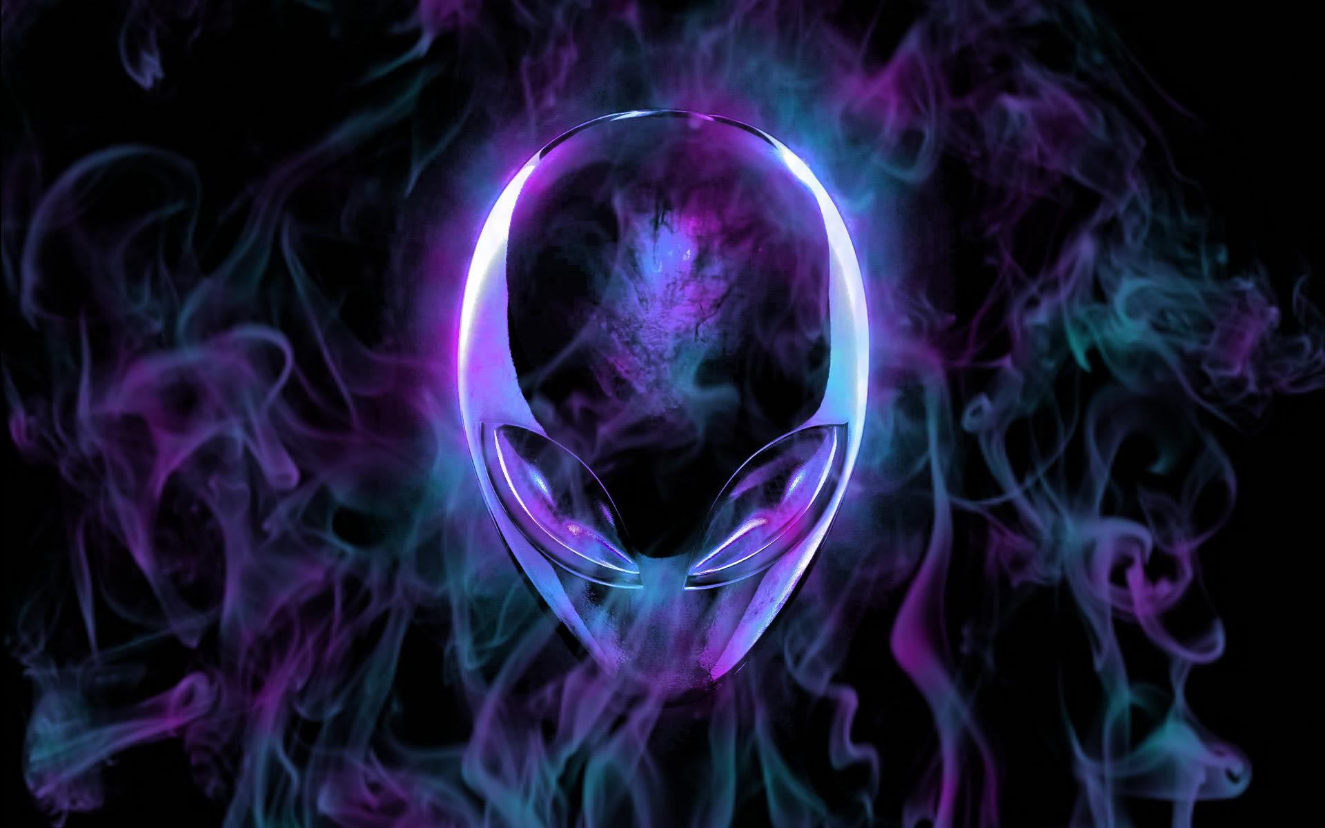 Purple Wallpaper For Phones: Alienware Desktop Background Purple Flames 1920x1200