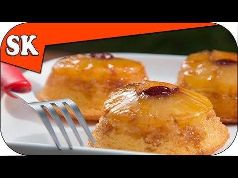 Pineapple Upside Down Cupcakes - YouTube