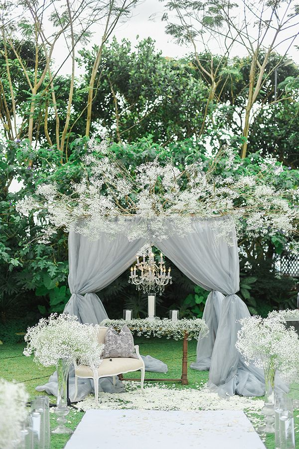 An Elegant and Tasteful Wedding with Dusty Colored Accents ...