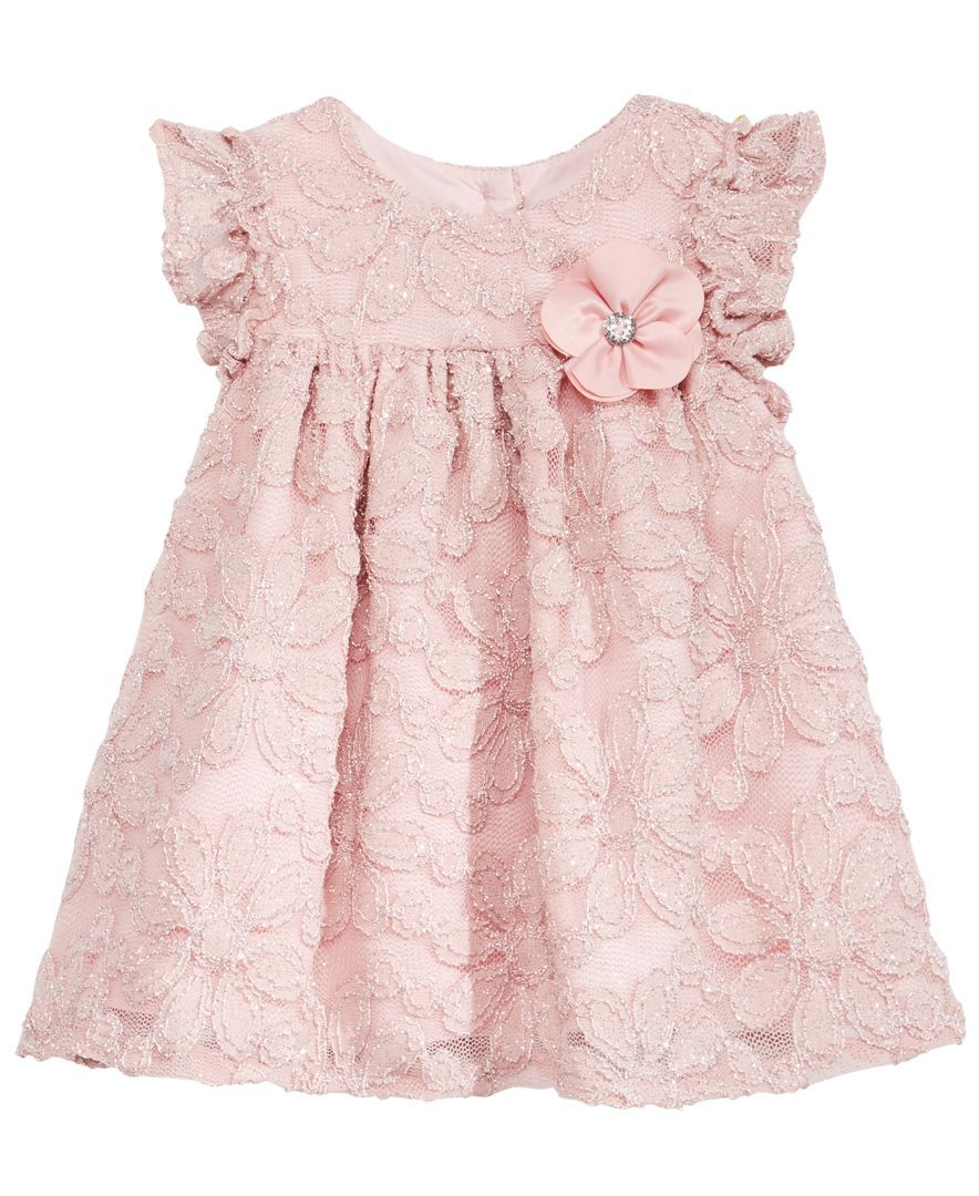 66e666988 Marmellata Sparkle Lace Dress, Baby Girls (0-24 months) | Products ...