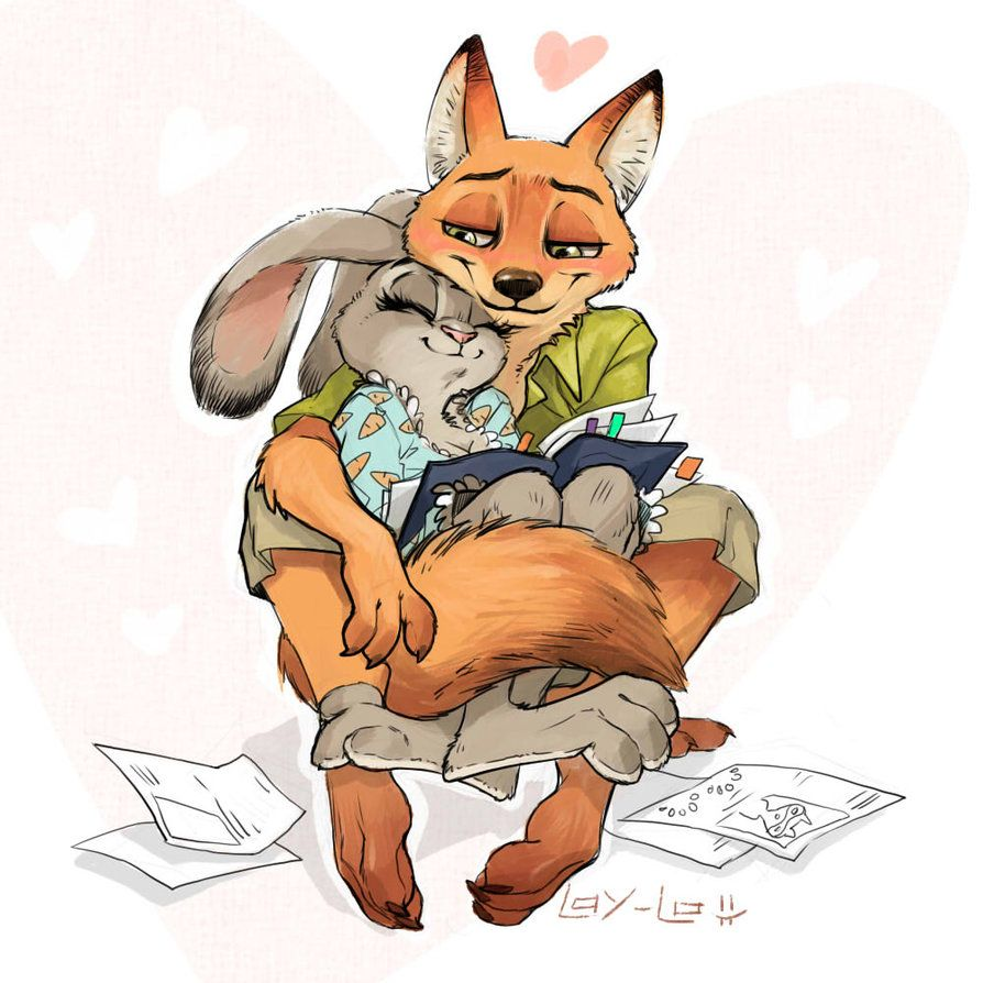 Judy and Nick ) by LayLoL on DeviantArt