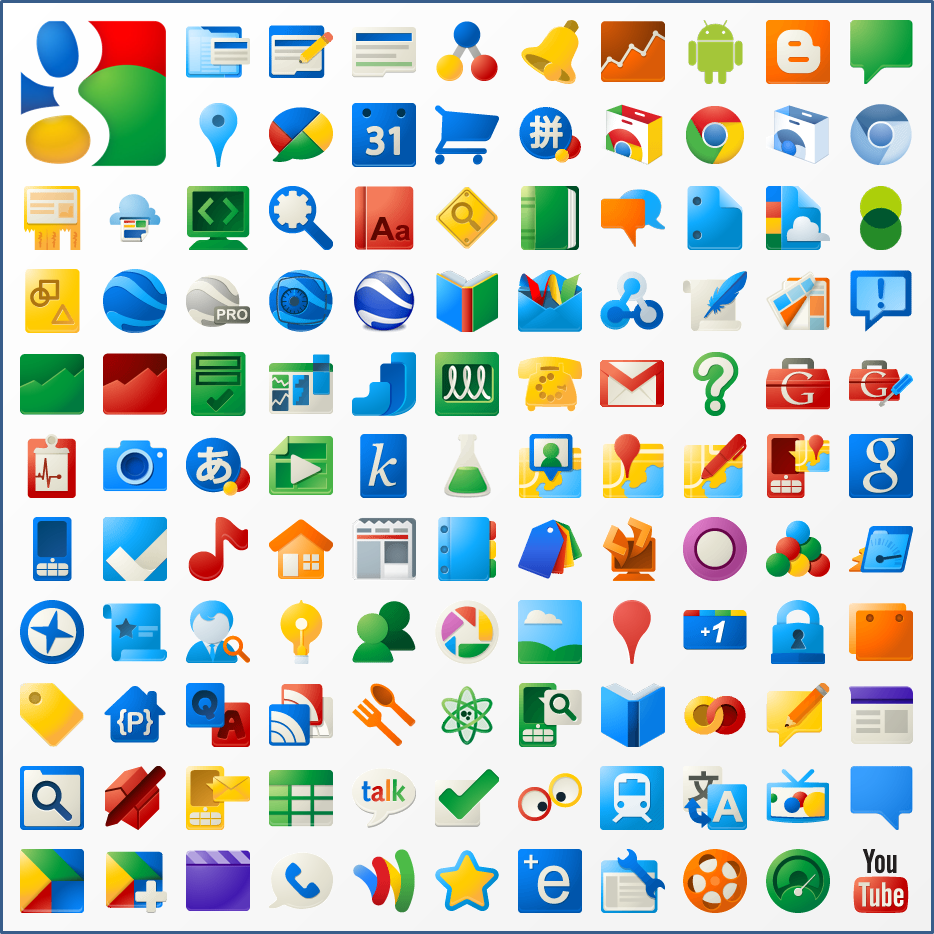 New Google Product Icons by carlosjj.deviantart.com on ...