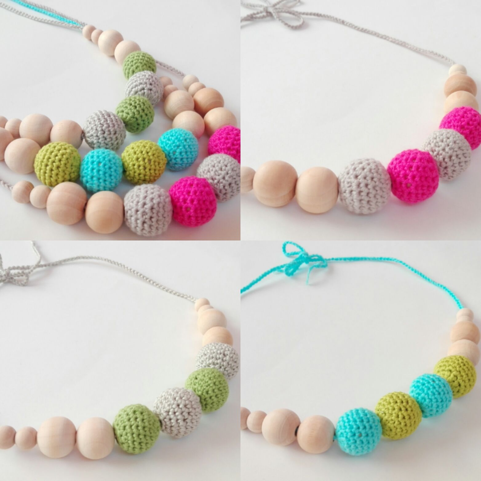#collaresdelactancia #mordedormadera #juguetemadera #breastfeedingnecklaces #woodenteether #woodenteethingtoy