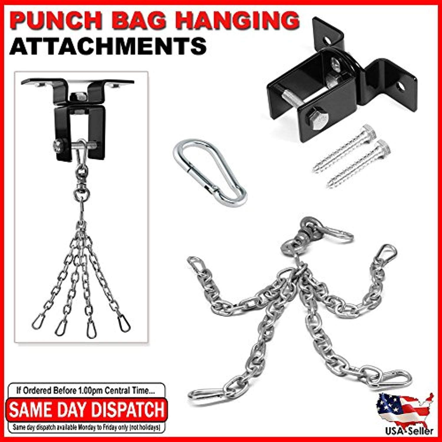 Attachment Heavy Bag Ceiling Swivel Mount Boxing MMA Gym Punching Hanging