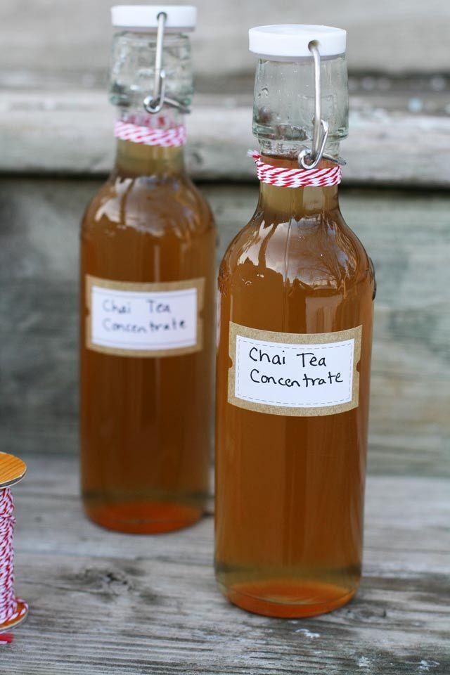 Chai Tea Concentrate (Chai-Flavored Simple Syrup) | Recipe ...